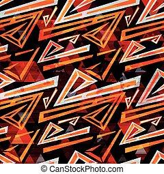 conception géométrique, couleur d'arrière-plan, ton, seamless, résumé