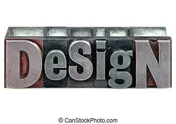 conception, letterpress
