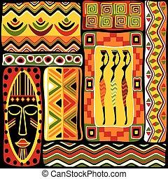 conception modèle, afrikan
