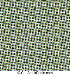 conception, toile, vert, base, halftone, modèle, seamless, reprise, répéter, polygone, textile, point, couleur d'arrière-plan, pastel