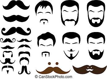 conceptions, moustache