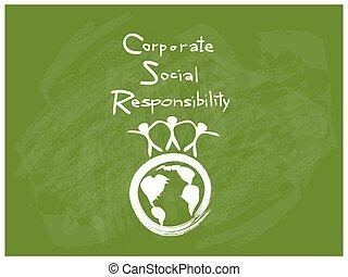 concepts, environnement, conservation, responsabilité, social, constitué