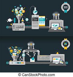 concepts web, plat, conception