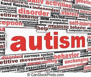 conceptuel, conception, autism