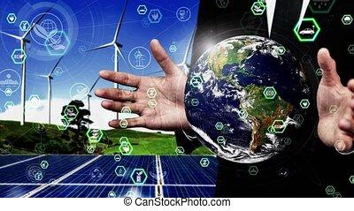 conceptuel, esg, conservation, ambiant, développement, soutenable