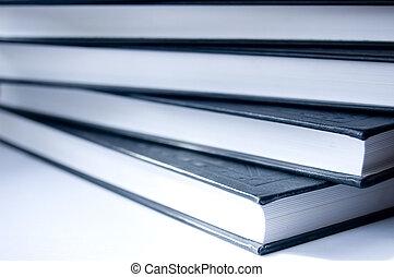 conceptuel, livres, image.