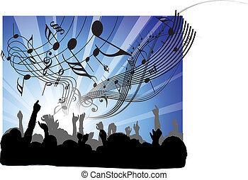 concert, gens