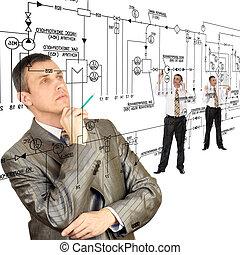 concevoir, ingénierie, automation