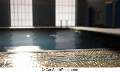 concurrence, vide, swiming, piscine