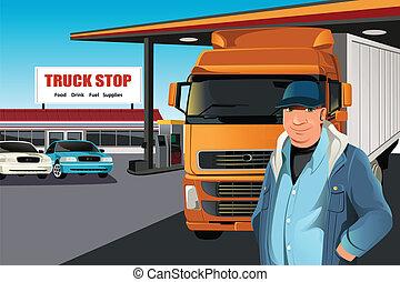 conducteur camion