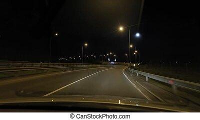conduite, nuit