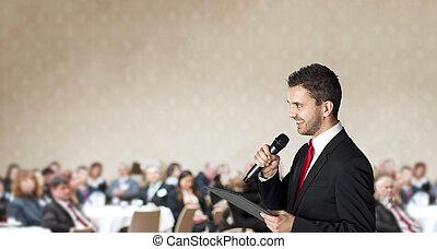 conférence, business