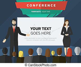 conférence, illustration