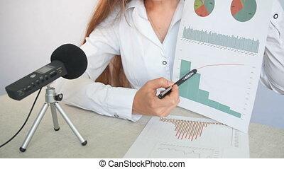 conférence, présentation, business