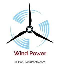 confection, énergie éolienne, logo, turbine, compagnie