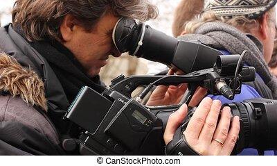confection, vidéo, journaliste, reportage