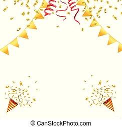 confetti, célébration