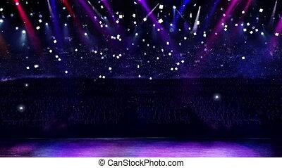 confetti, concert