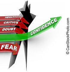 confiance, pas, influenc, négatif, vous-même, croire, écouter