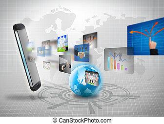 connexion globale, business
