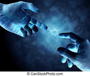 connexion, puissant