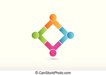connexions, logo, partenaires, équipe