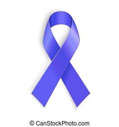conscience, cancer, pourpre, violence, symbole, conjugal, maladie, drogue, alzheimer, surdosage, ruban
