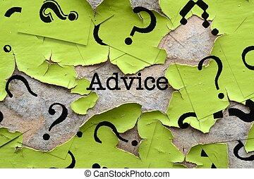 conseil, questions, marques