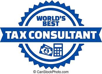 conseiller, bouton, impôt, monde, mieux