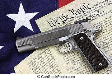constitution, fusil