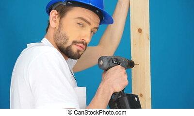 constructeur, forage