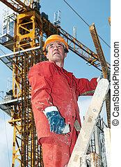 constructeur, site construction