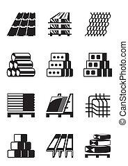 construction bâtiments, matériels