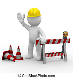 construction, bonjour, sous