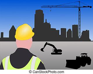 construction, dallas, site