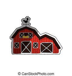 construction ferme, grange