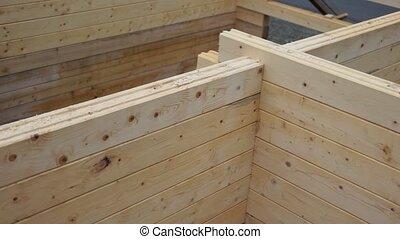 construction, house., bois