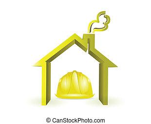 construction maison, sous