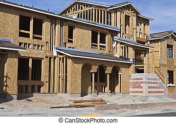 construction, nouvelle maison