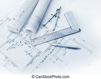 construction, outils, plan