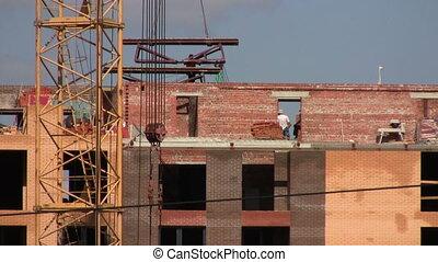 construction, travaux, site.