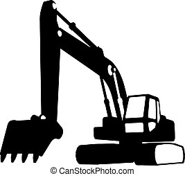 construction, (vector), véhicules