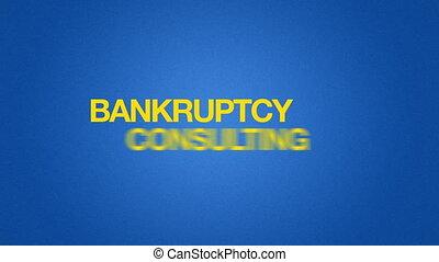 consultant, faillite