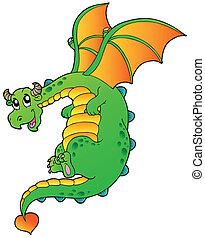 conte, fée, voler, dragon