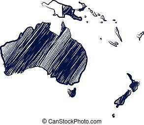 continent, australie