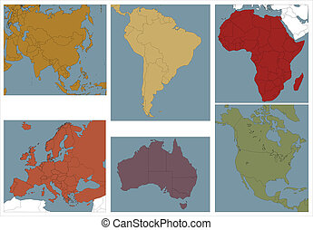 continents.