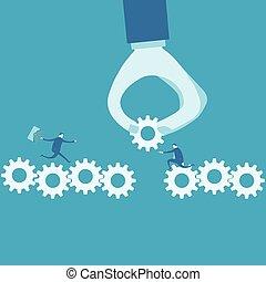 continuité, concept, business