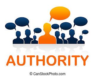 contrôle, directeur, autorité, indique, unité, équipe