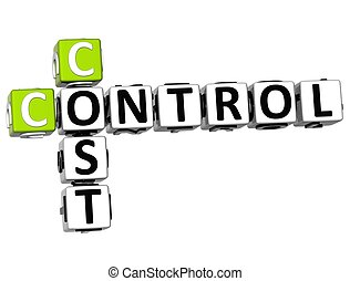 contrôle, mots croisés, cout, 3d