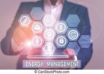 contrôler, écriture main, photo, énergie, texte, projection, conceptuel, conserver, usage., management., manière, poursuite, business